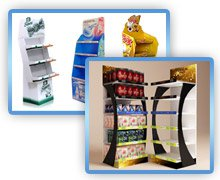 Floor Display Stand for Products
