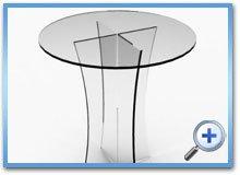 стіл акриловий