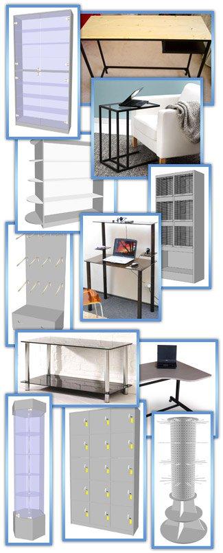 Торговое оборудование, мебель